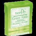 """Натуральное мыло ручной работы """"Зеленое яблоко"""""""
