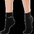 Хлопковые носки с точечным нанесением турмалина